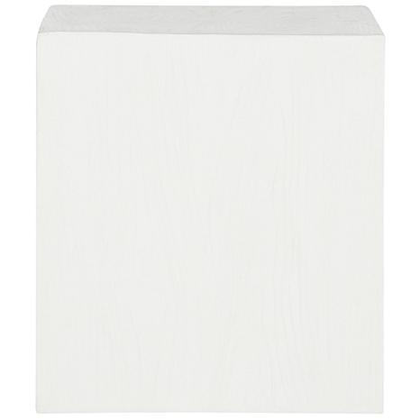Safavieh Cube Concrete Accent Table - Ivory