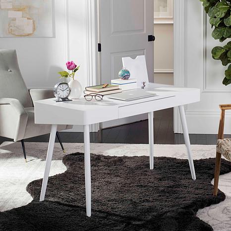 Safavieh Fadri Mid Century Scandinavian One Drawer Desk