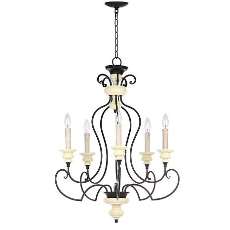"Safavieh Hanna 24"" Diameter Adjustable Chandelier"