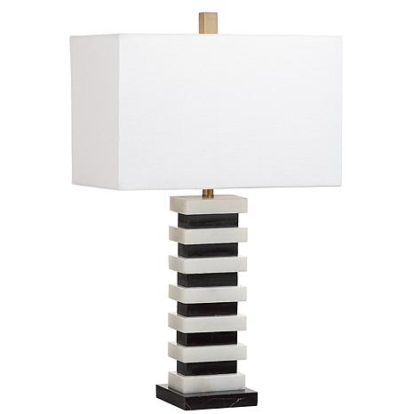 "Safavieh Hugo Marble 26-1/2"" Table Lamp"