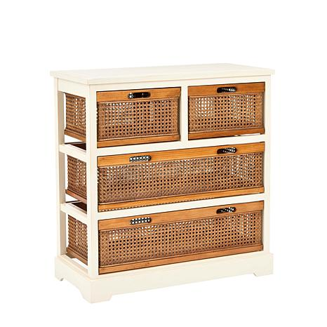 Drawer Storage 4 Cart Unit Argos Bins