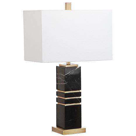 """Safavieh Jaxton Marble 27-1/2"""" Table Lamp"""