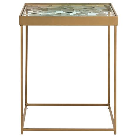 Safavieh Lilian Leaf Side Table