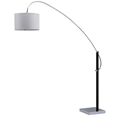 """Safavieh Lyra 111"""" Adjustable Arc Floor Lamp"""