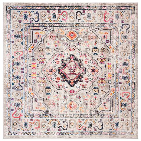 "Safavieh Madison Flannery 6'-7"" x 6'-7"" Square Rug"