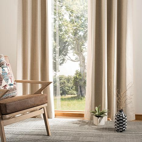 "Safavieh Nealonia Window Panel - Ivory - 52"" x 84"""