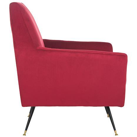 Safavieh Nynette Velvet Retro Mid Century Accent Chair