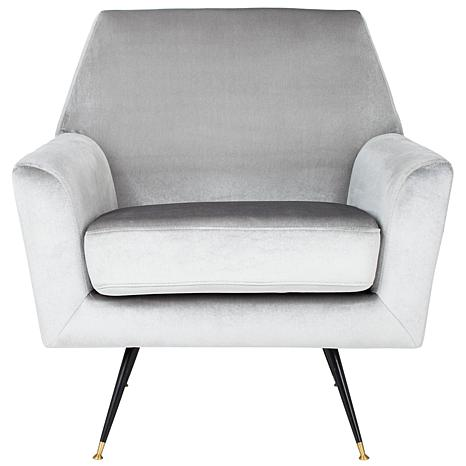 Safavieh Nynette Velvet Retro Mid-Century Accent Chair
