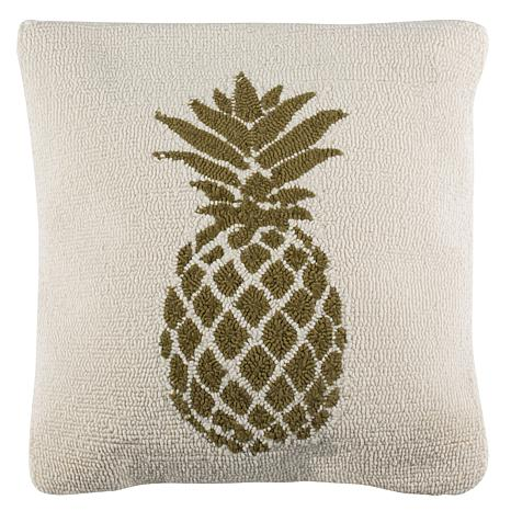 "Safavieh Pure Pineapple 20"" x 20"" Outdoor Pillow"