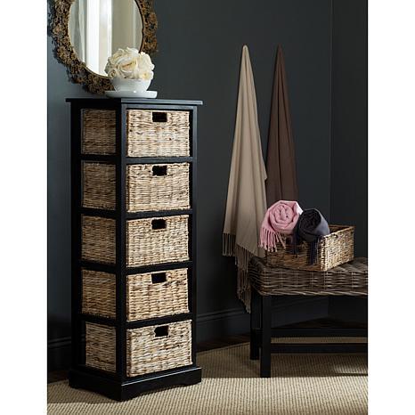 Safavieh Vedette 5 Wicker Basket Storage Chest