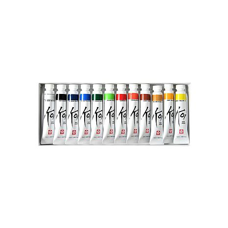 Sakura Koi Watercolor 12-Tube Set