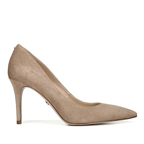 Sam Edelman Margie Suede Pointed-Toe Pump
