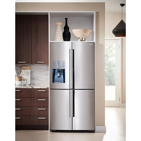 Amazing Ft. 4 Door Refrigerator With Flex Food Showcase  Stainless Steel   8110893  | HSN