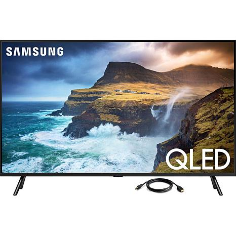 """Samsung 4K QLED 49"""" Smart Flat Television with 6' HDMI Cable"""