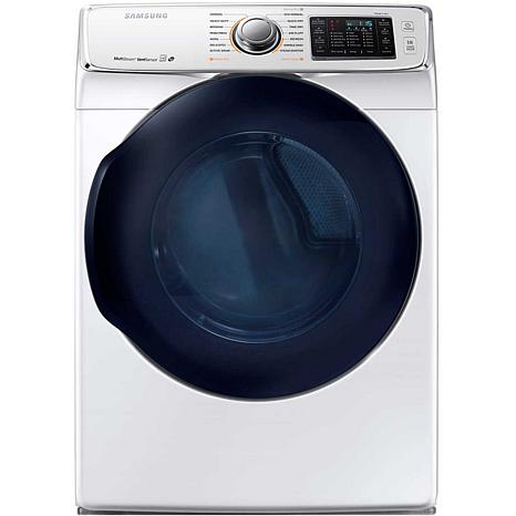 Samsung 7.5CF 6500-Series Electric Dryer- White