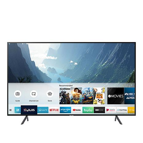 """Samsung NU7100 75"""" 4K UHD Smart TV with HDMI Cable and 2-Year Warranty"""