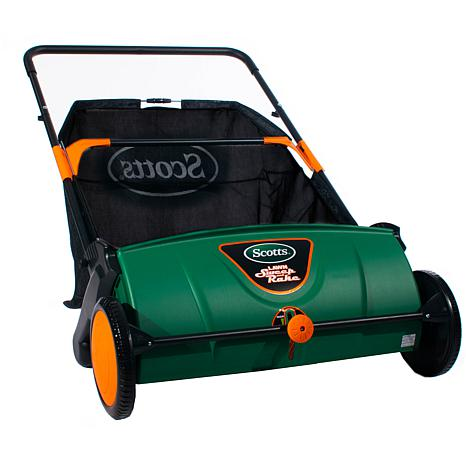 """Scotts 26"""" Lawn Sweeper with Collection Bag"""
