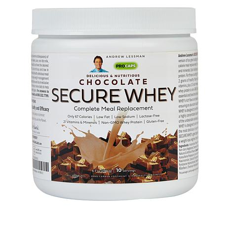 Secure Whey Complete Meal Replacement - 10 Meals