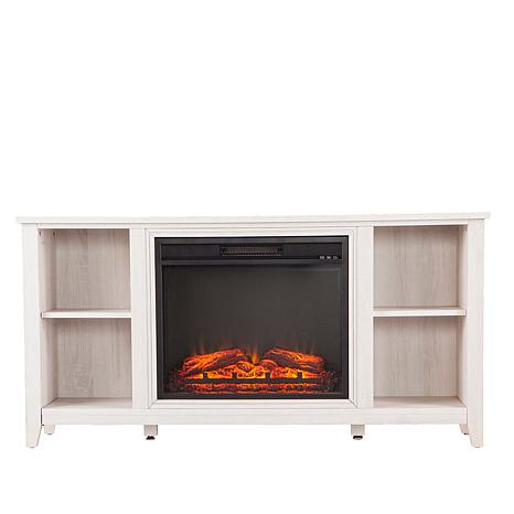 SEI Fireplace Media Console