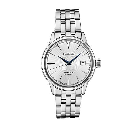 Seiko Presage Men's Automatic Stainless Steel Bracelet Watch