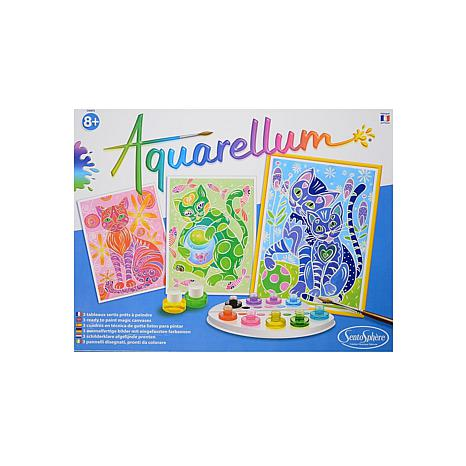 Sentosphere Aquarellum Large Sets - Cats