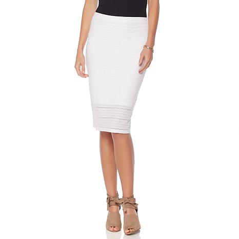 Serena Williams Perforated Pencil Skirt