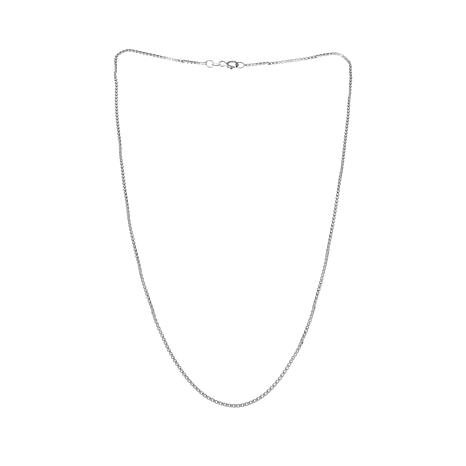 "Sevilla Silver™ 1.3mm Box Chain 18"" Necklace"