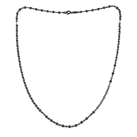 "Sevilla Silver™ 18"" Gold-Plated Sparkle Chain Necklace"