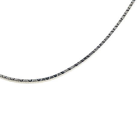 "Sevilla Silver™ 18"" Wave Design Snake Chain"