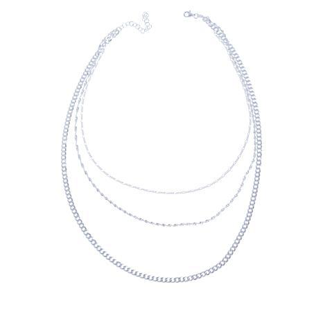 Sevilla Silver™ 3-Strand Necklace