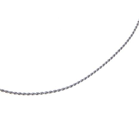 "Sevilla Silver™ Adjustable 1.1mm 22"" Rope Chain"