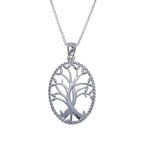 "Sevilla Silver™ Celtic ""Tree of Life"" Pendant"