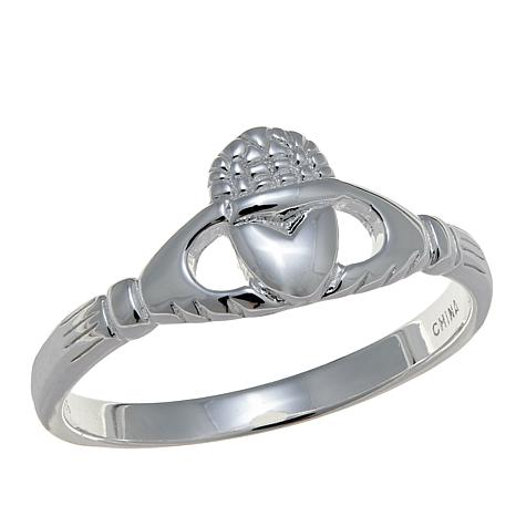 Sevilla Silver™ Claddagh Ring