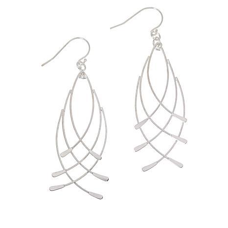 Sevilla Silver™ Crisscross Drop Earrings