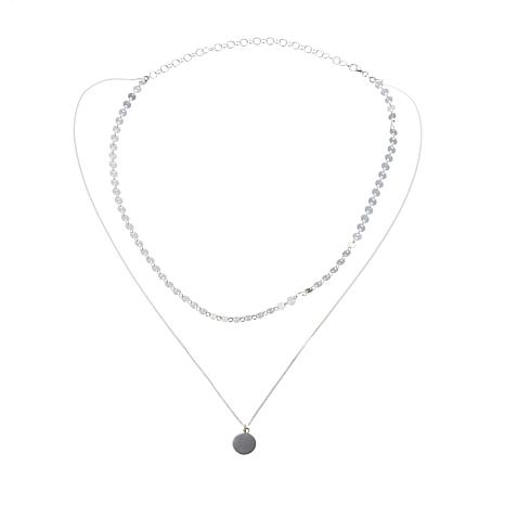 Sevilla Silver™ Double Layer Choker Necklace