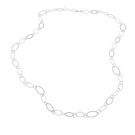 "Sevilla Silver™ Marquise Link 36"" Necklace"