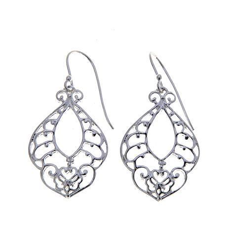 Sevilla Silver™ Ornate Drop Earrings
