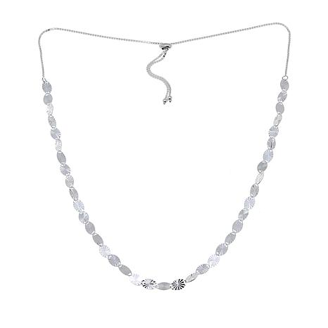 Sevilla Silver™ Sparkle Chain Adjustable Necklace