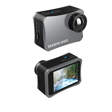 Sharper Image 4k Wireless Action Camera Waccessories And 16gb Sd