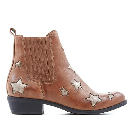 Sheryl Crow Star Leather Pull-On Boot