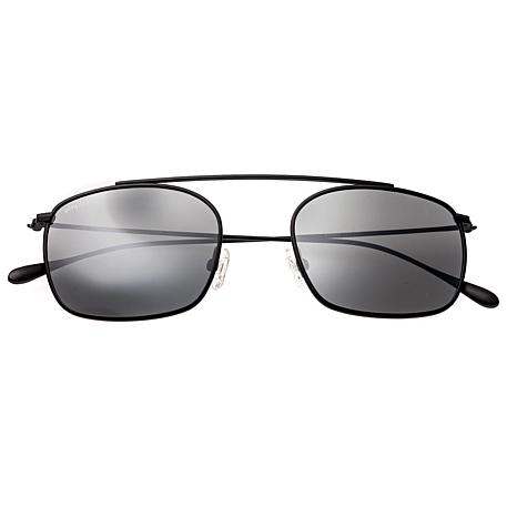 Simplify Collins Polarized Sunglasses with Black Frames and Lenses