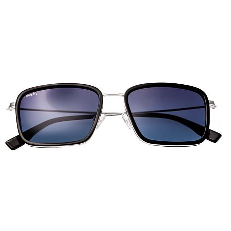 Simplify Parker Polarized Sunglasses with Black Frames and Lenses