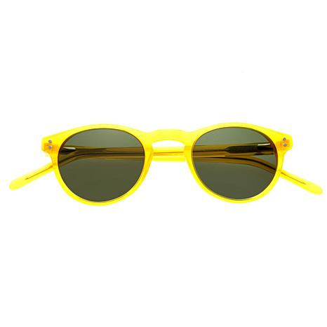 Simplify Russell Polarized Sunglasses w/ Yellow Frame and Black Lenses