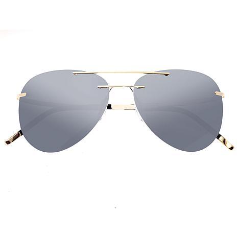 Simplify Sullivan Polarized Sunglasses with Gold Frame