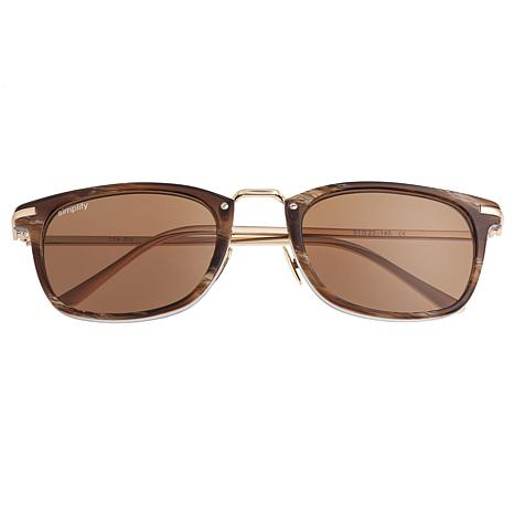 Simplify Theyer Polarized Sunglasses with Brown Frame and Brown Lenses