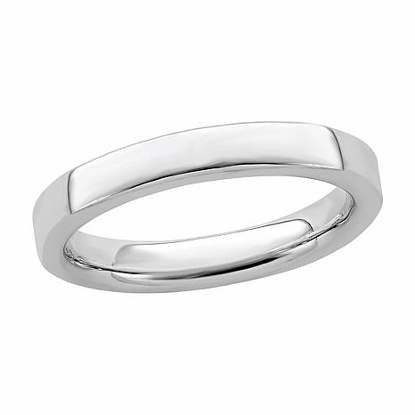 Simply Stacks™ 3.5mm Sterling Silver Polished Stackable Band Ring