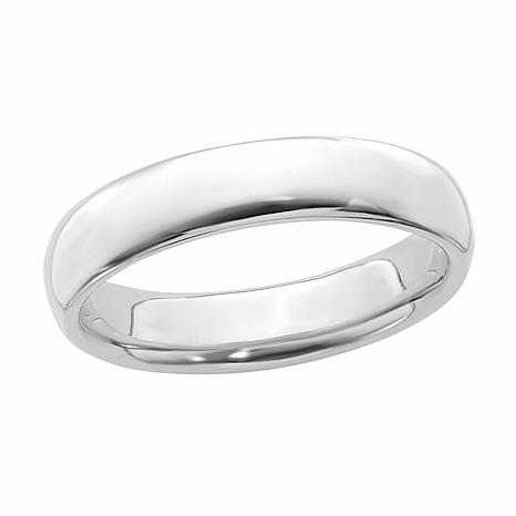 Simply Stacks™ 4.25mm Sterling Silver Polished Stackable Band Ring