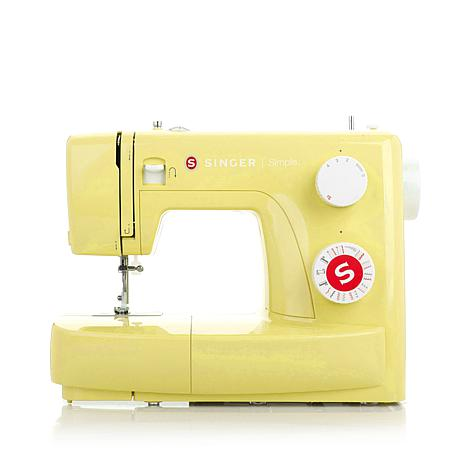 Singer Simple 23-Stitch Sewing Machine with DVD