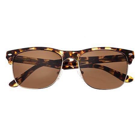 Sixty One Waipio Polarized Sunglasses with Brown Tortoise Frame