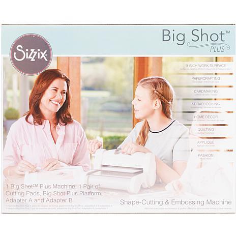 Sizzix® Big Shot™ Plus Machine - Gray/White
